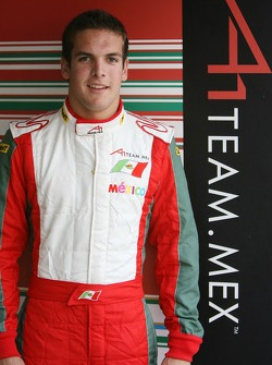 David Garza, driver of A1 Team Mexico