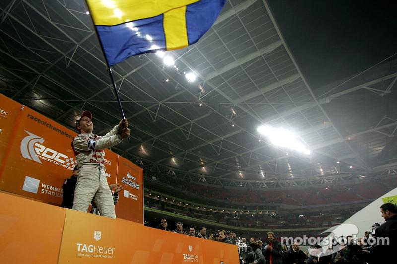 Campeón de la Race of Champions 2007: Mattias Ekström
