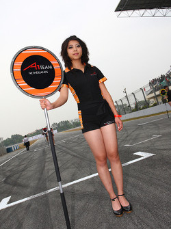 Grid girl, A1 team Netherdland
