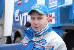 Kamaz-Master ceremonial start on the Red Square in Moscow: Eduard Nikolaev