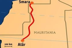 Stage 7: 2008-01-11, Smara to At'r