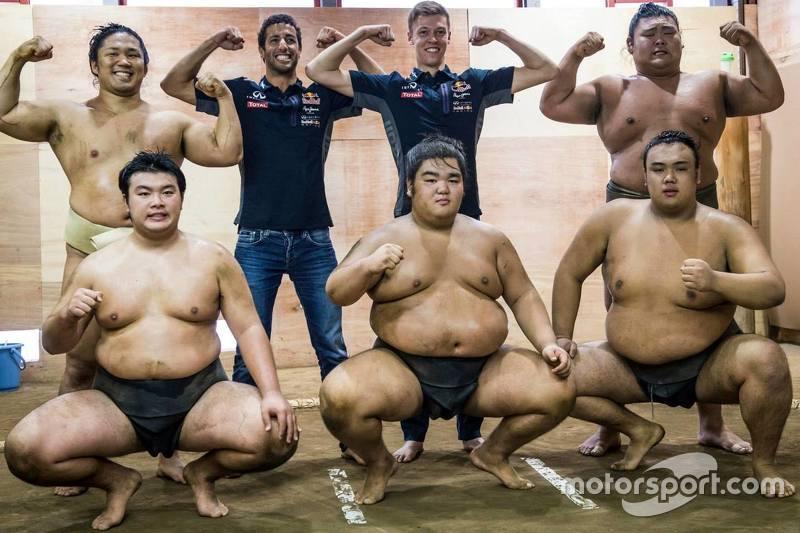 Red Bull visita sumô