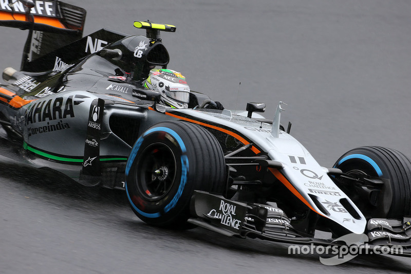 Sergio Perez, Sahara Force India F1, VJM08