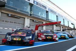 Машина Audi RS 5 DTM команды Audi Sport Team Abt Sportsline