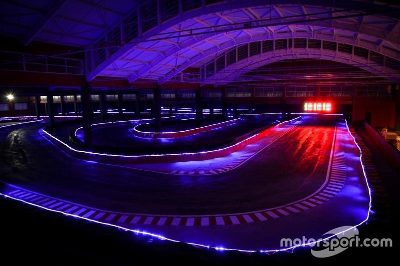 Pista do Speedland iluminada por LEDs