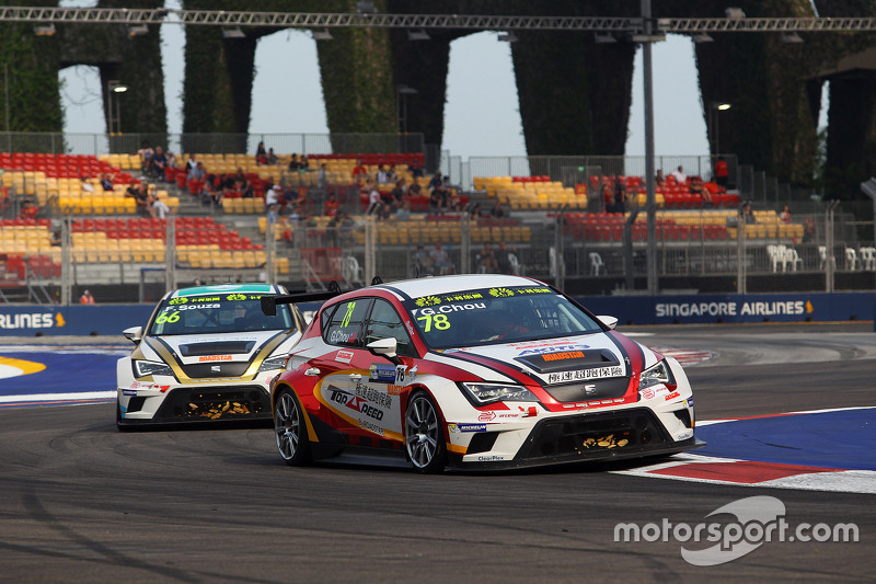 George Chou, SEAT Leon, Roadstar Racing Team
