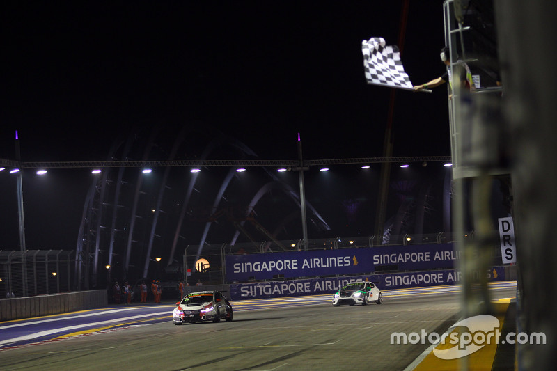 1. Kevin Gleason, Honda Civic TCR, West Coast Racing; 2. Stefano Comini, SEAT Leon, Target Competiti