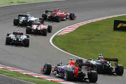 Daniel Ricciardo, Red Bull Racing na largada