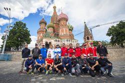 Foto di gruppo della seconda stagione della Formula E