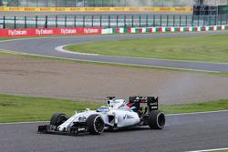 Felipe Massa, Williams FW37 avec une crevaison au départ