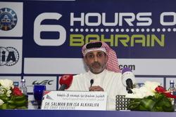 الشيخ سلمان بن عيسى آل خليفة الرئيس التنفيذي لحلبة البحرين الدوليّة