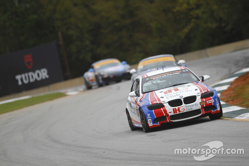 #46 Fall-Line Motorsports BMW M3: Trent Hindman, Ashley Freiberg
