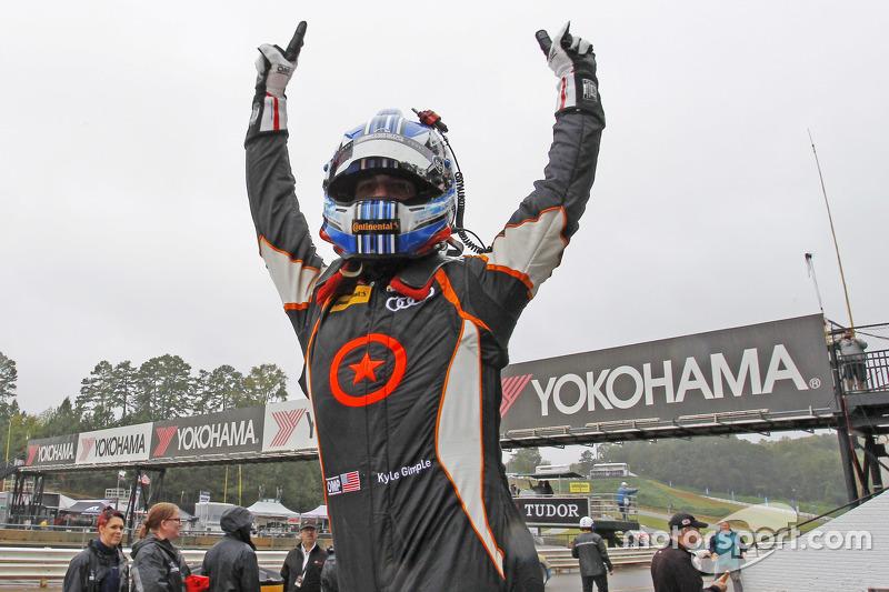 ST race winners #75 Compass360 Racing Audi S3: Paul Holton, Kyle Gimple