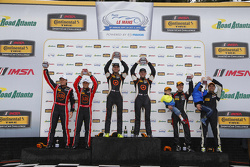 Podium: ST race winners #75 Compass360 Racing Audi S3: Paul Holton, Kyle Gimple, second place #73 Mini John Cooper Works Team Mini JCW: Derek Jones, Mat Pombo and third place #23 Burton Racing BMW 128i: Terry Borcheller, Mike LaMarra