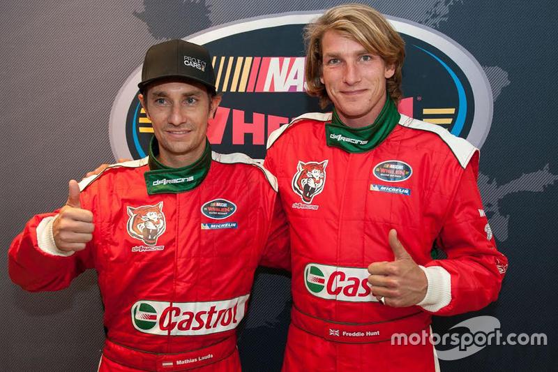 Mathias Lauda e Freddie Hunt
