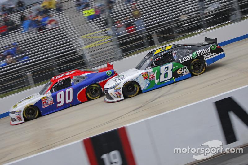 Маріо Госселін, King Autosport Chevrolet та Блейк Кох, TriStar Motorsports Toyota