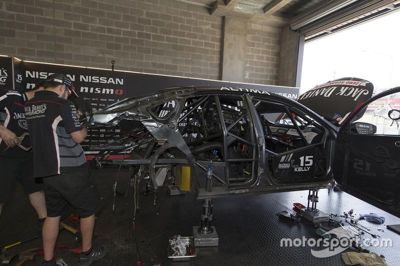 Rick Kelly and David Russell, Nissan Motorsports