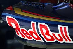 Scuderia Toro Rosso STR10 : ponton