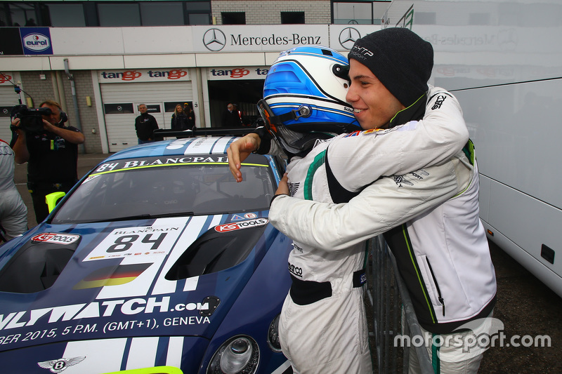 Polesitters #84 Bentley Team HTP Bentley Continental GT3: Maximilian Buhk, Vincent Abril