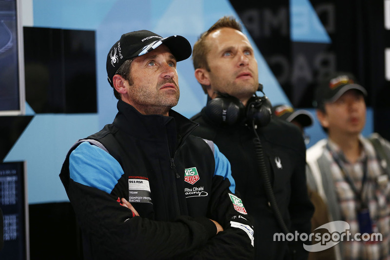 Patrick Dempsey mit Marco Seefried, Dempsey Proton Racing