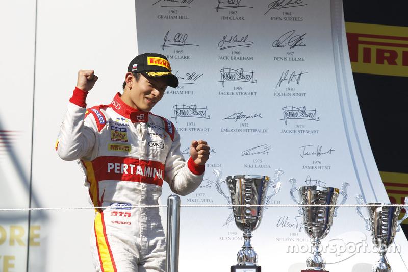 Segundo lugar Rio Haryanto, Campos Racing