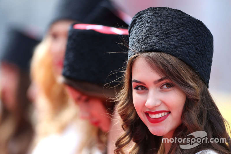 Chicas de la parrilla GP de Rusia