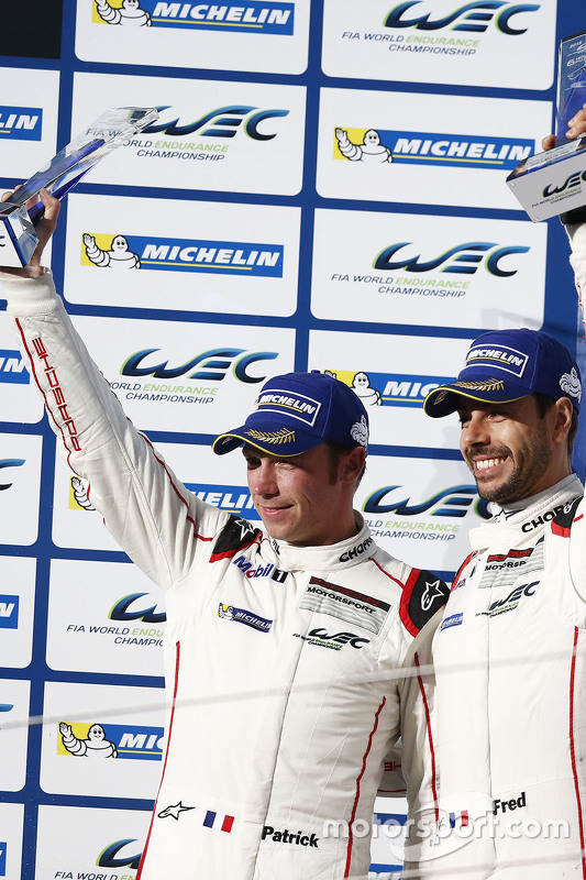 2. GTE-Pro-Kategorie: Frederic Makowiecki, Patrick Pilet, Porsche Team Manthey