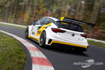 Opel Astra TCR launch