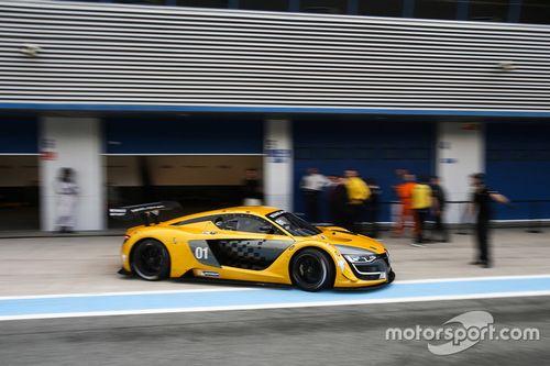 Renault Sport R.S. 01, il test a Jerez