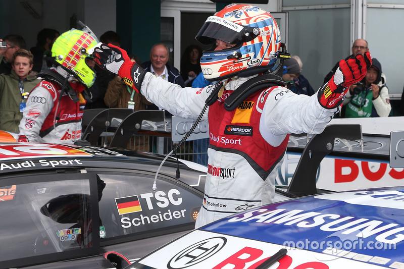 Race winner Timo Scheider, Audi Sport Team Phoenix Audi RS 5 DTM
