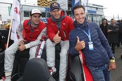 Miguel Molina, Audi Sport Team Abt Audi RS 5 DTM, Mattias Ekström, Audi Sport Team Abt Sportsline, Audi A5 DTM, triathlete Andreas Raelert