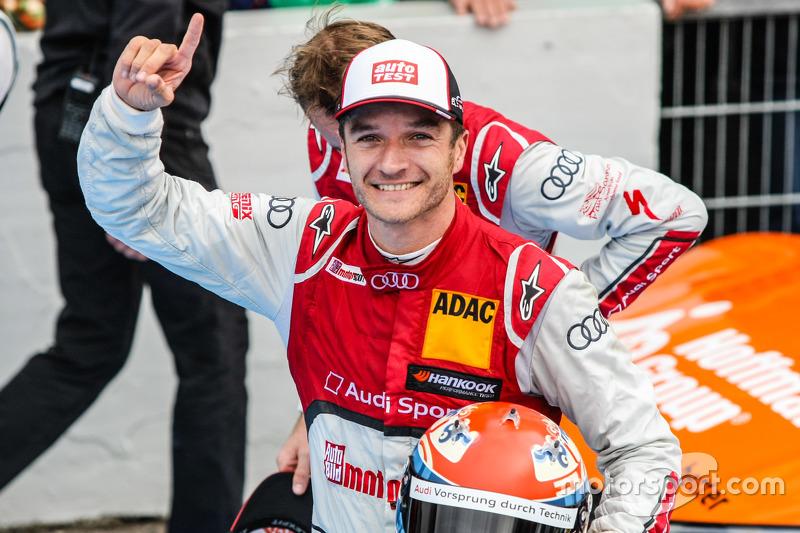 Winner Timo Scheider , Audi Sport Team Phoenix Audi RS 5 DTM