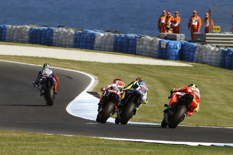 أحداث السباق