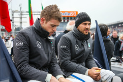 Gary Paffett, ART Grand Prix Mercedes-AMG C63 DTM and Paul di Resta, HWA AG Mercedes-AMG C63 DTM