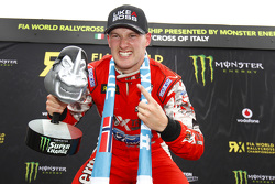 Winner Andreas Bakkerud, Olsbergs MSE Ford Fiesta ST