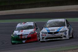 Honda Civic Type R B 24h 2.0 #205 Samuele Piccin e Omar Paravati, A.S.D. Super 2000, Renault New Clio-B24 2.0 #212 Pasquale Notarnicola e Giuseppe Montalbano, Autostar Motorsport