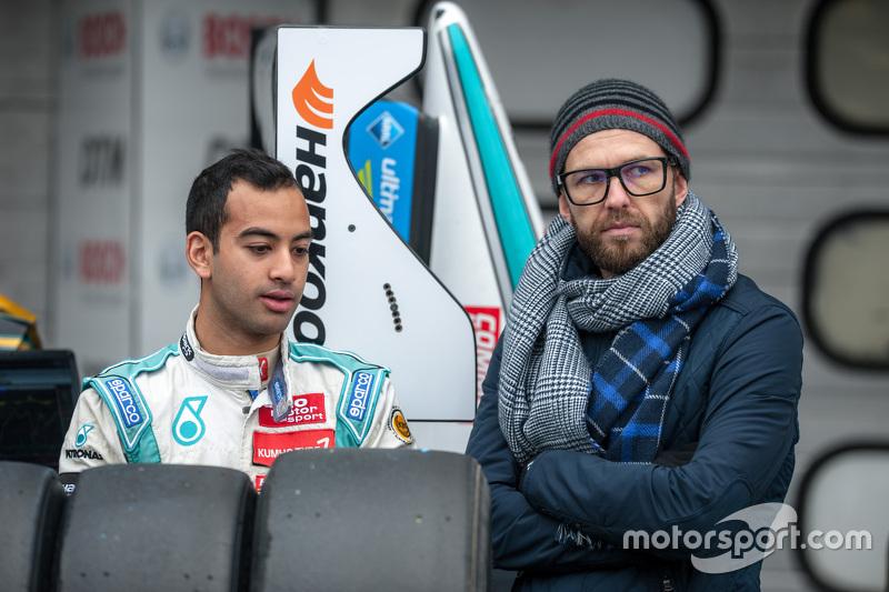Набіль Джеффрі, Motopark Dallara Volkswagen та його тренер Кріс ван дер Дрифт