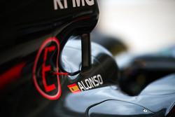 La McLaren MP4-30 di Fernando Alonso, McLaren