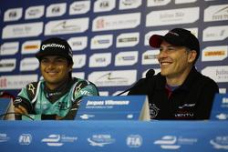 Нельсон Пике мл., NEXTEV TCR Formula E Team и Жак Вильнёв, Venturi