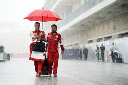 毛里齐奥•阿里瓦贝内(法拉利领队), Gino Rosato,雨中的围场