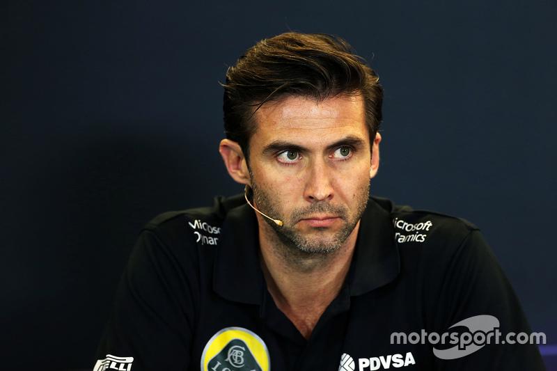 Меттью Картер, Lotus F1 Team CEO на пресс-конференції FIA