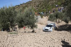 Отт Тянак и Мольдер Райго, M-Sport Ford Fiesta WRC