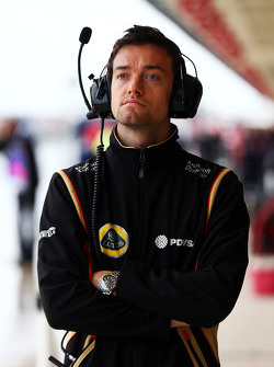 Jolyon Palmer, pilote d'essais et de réserve Lotus F1 Team