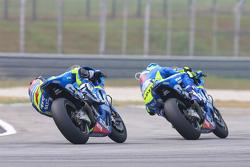 Maverick Viñales, Team Suzuki MotoGP e Aleix Espargaro, Team Suzuki MotoGP