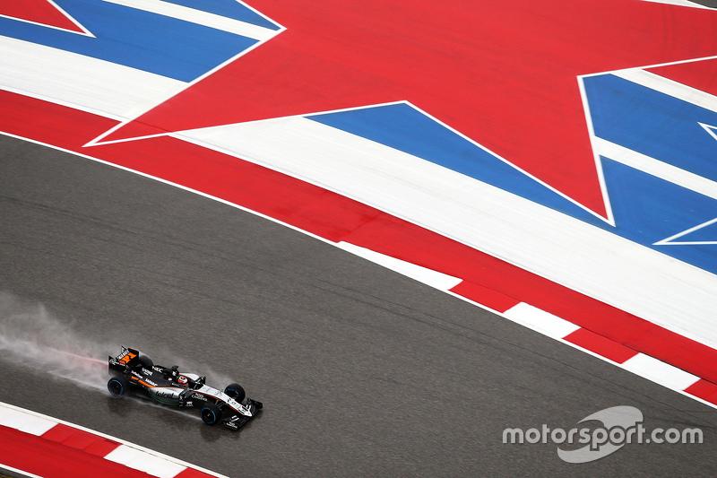 Ніко Хюлкенберг, Sahara Force India F1 VJM08 під час кваліфікації