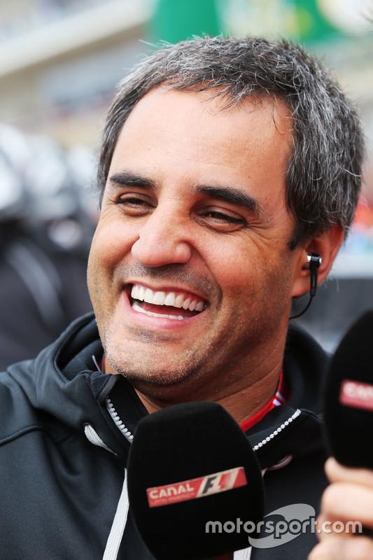 Juan Pablo Montoya op de grid