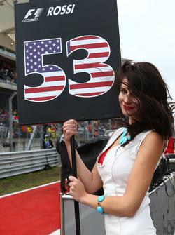 Грид-гёрл Александра Росси, Manor Marussia F1 Team