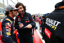 Карлос Сайнс мл., Scuderia Toro Rosso на стартовой решетке