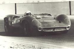 Mario Andretti in Riverside in einem Lola T70