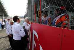 Delegado de FIA Charlie Whiting